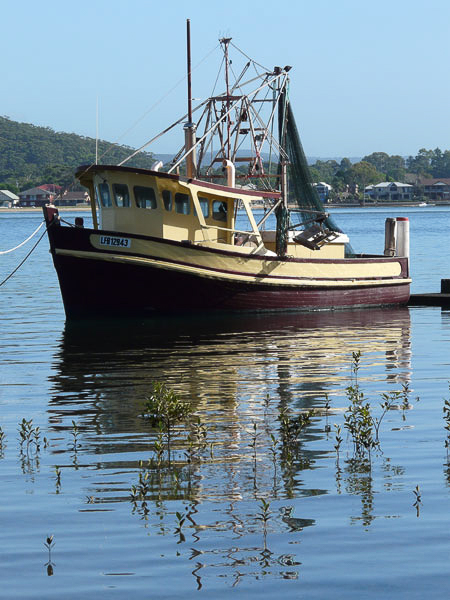 Fishing Boat at Pretty Beach