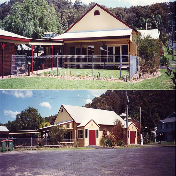 Views of the Newly Renovated Wagstaffe Hall, 1999