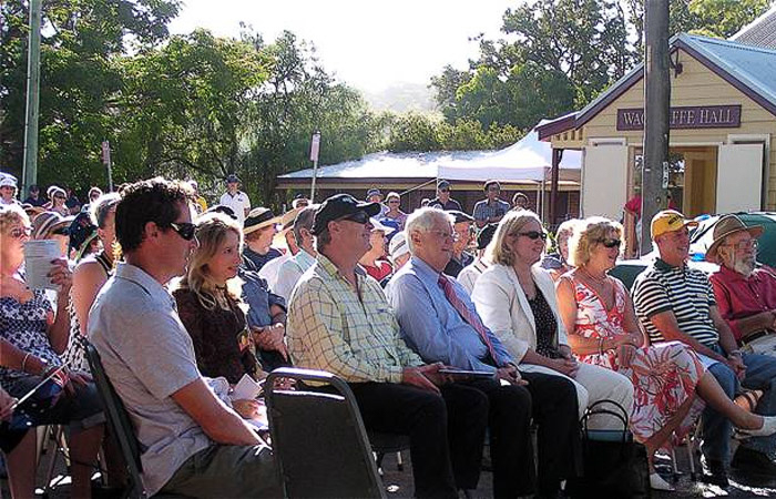 Outdoor Event at the Wagstaffe Community Hall