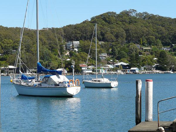 Sailing Boats at Anchor, Wagstaffe