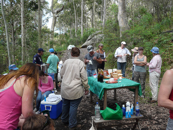 Job Done - Time for a Barbeque at Wagstaffe War on Weeds