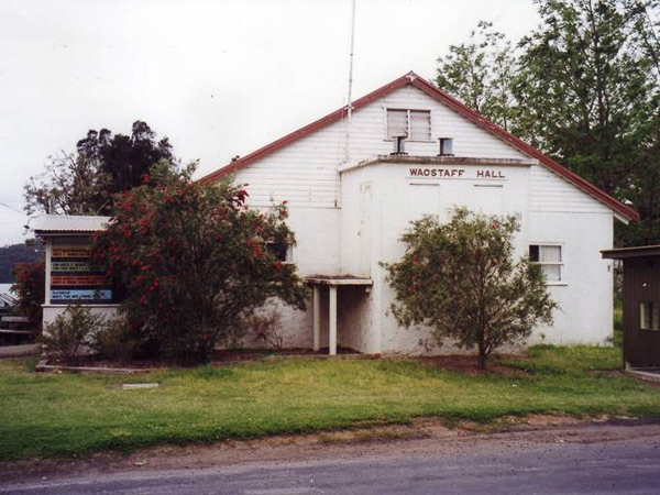 Wagstaffe Hall Before Renovation in 1999