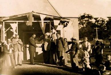 Opening of Wagstaffe Hall