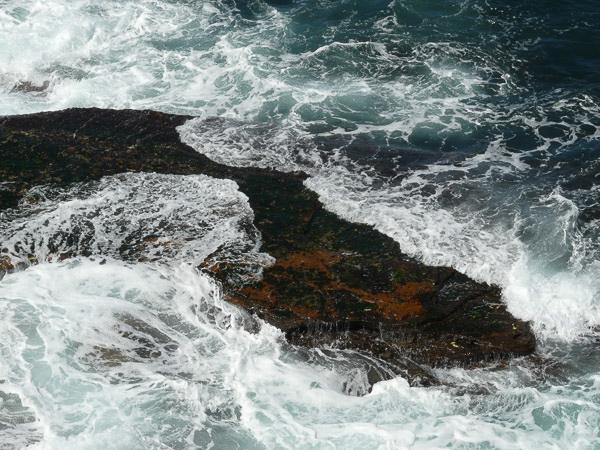 White Wash Waves Over Landform, Bouddi Peninsula